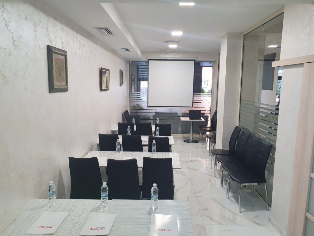 Конферентна зала на Хотел Капри Пловдив